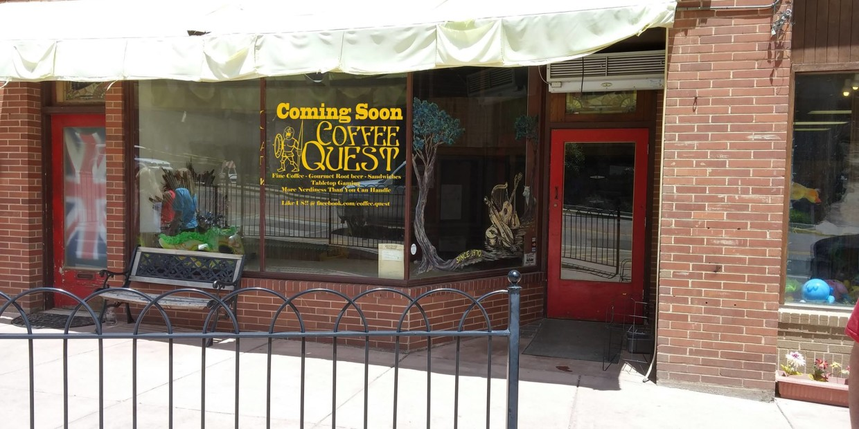Coffee Quest, Manitou Springs, Rocky Mountain Food Report