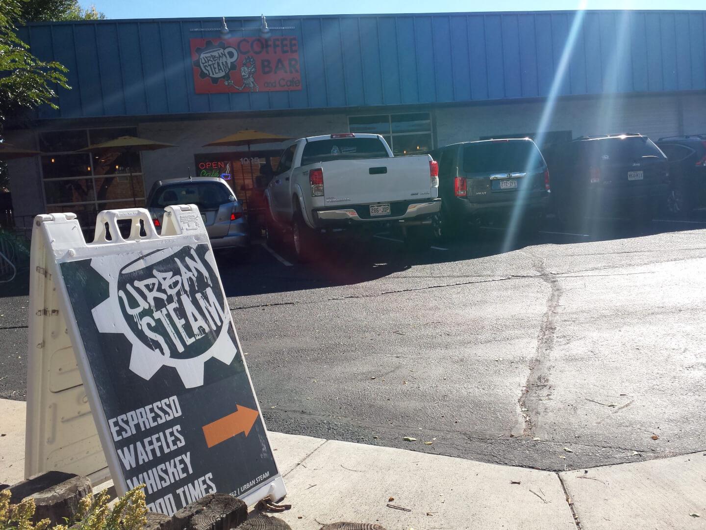 Urban Steam, coffee, Rocky Mountain Food Report, Colorado Springs