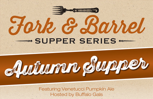 Buffalo Gals, catering, Venetucci Pumpkin Ale, Bristol Brewing Co., Colorado Springs, Rocky Mountain Food Report, food news