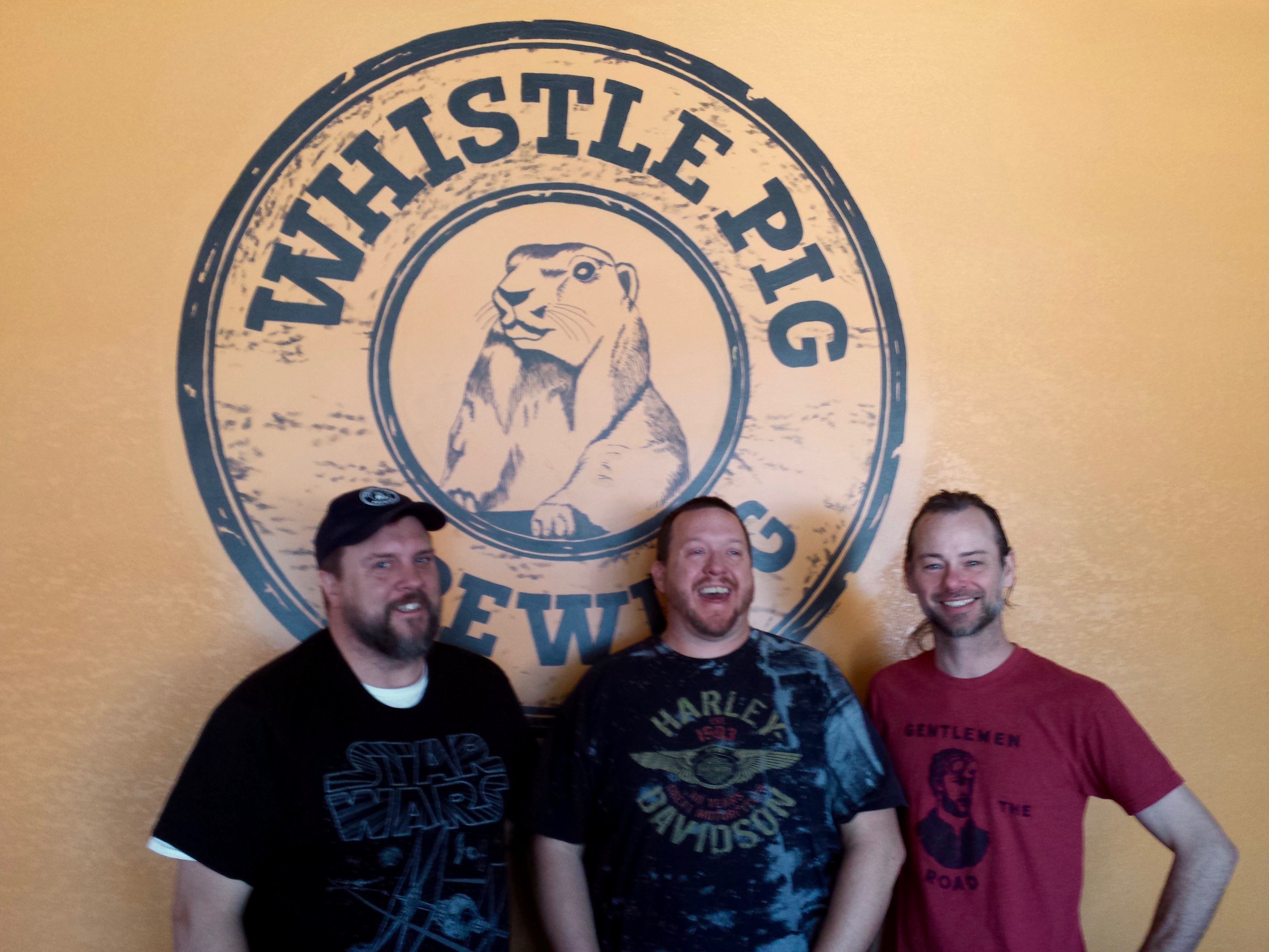 Eric Merrell, Rob Beers, Whistle Pig Brewing Company, Bobby Couch, Rocky Mountain Food Report, Colorado Springs, food, beer