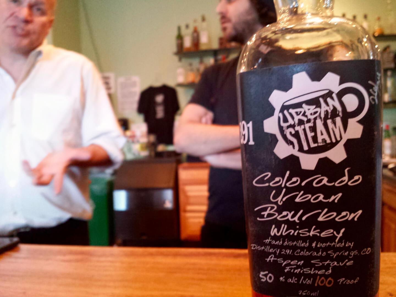 Urban Steam Coffee, Distillery 291, Colorado Springs, cocktail, bourbon, whiskey, Rocky Mountain Food Report, Colorado Springs food, news