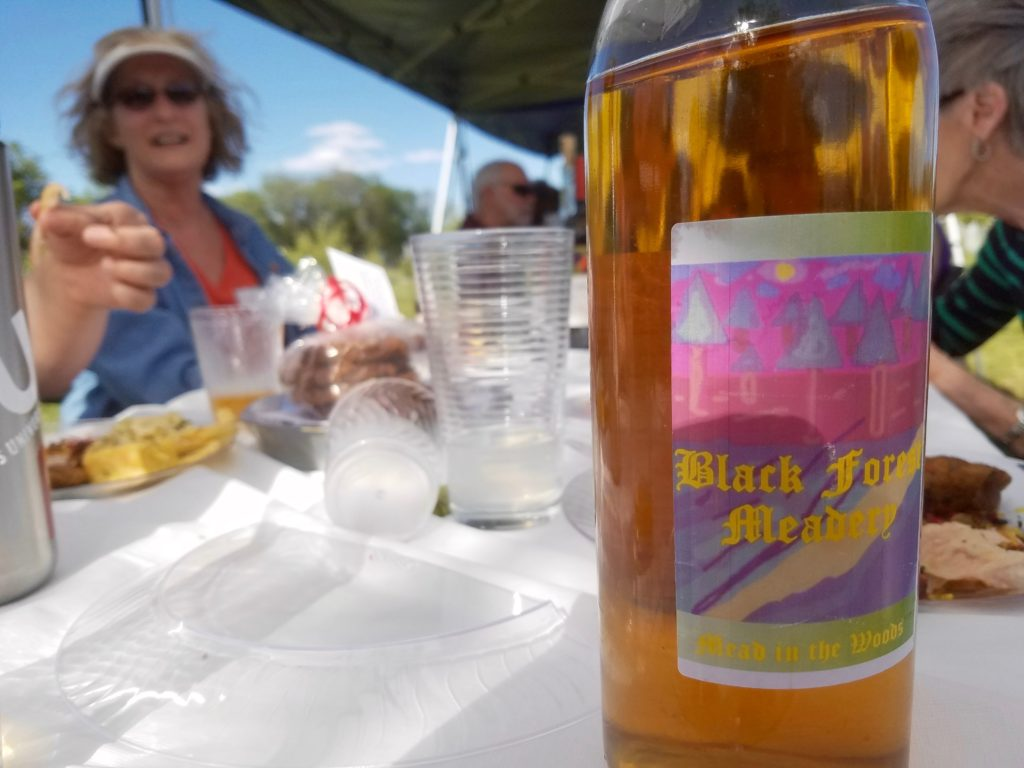 Drink from Black Forest Meadery, and friends.