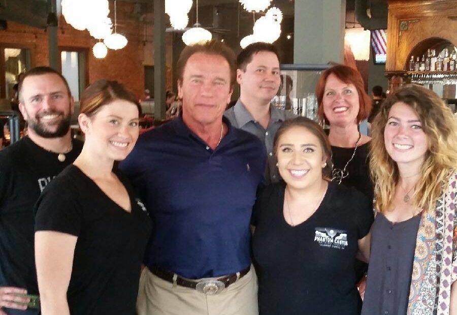 Arnold Schwartzenegger, Phantom Canyon Brewing Company, Rocky Mountain Food Report, Colorado Springs, food news