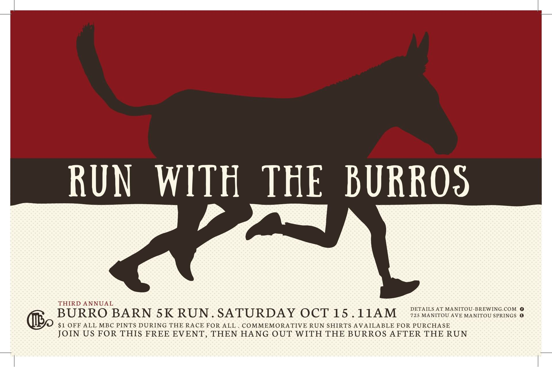 Run with the Burros, Manitou Springs, Rocky Mountain Food Report, Colorado Springs, food news, Pikes Peak Region