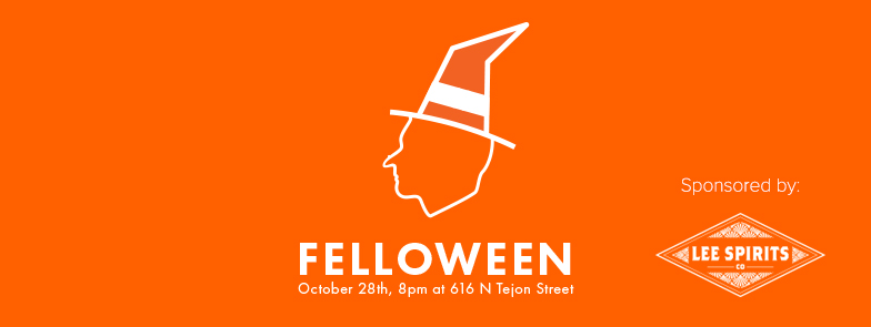 Felloween, Welcome Fellow, Halloween, Colorado Springs food news, Rocky Mountain Food Report