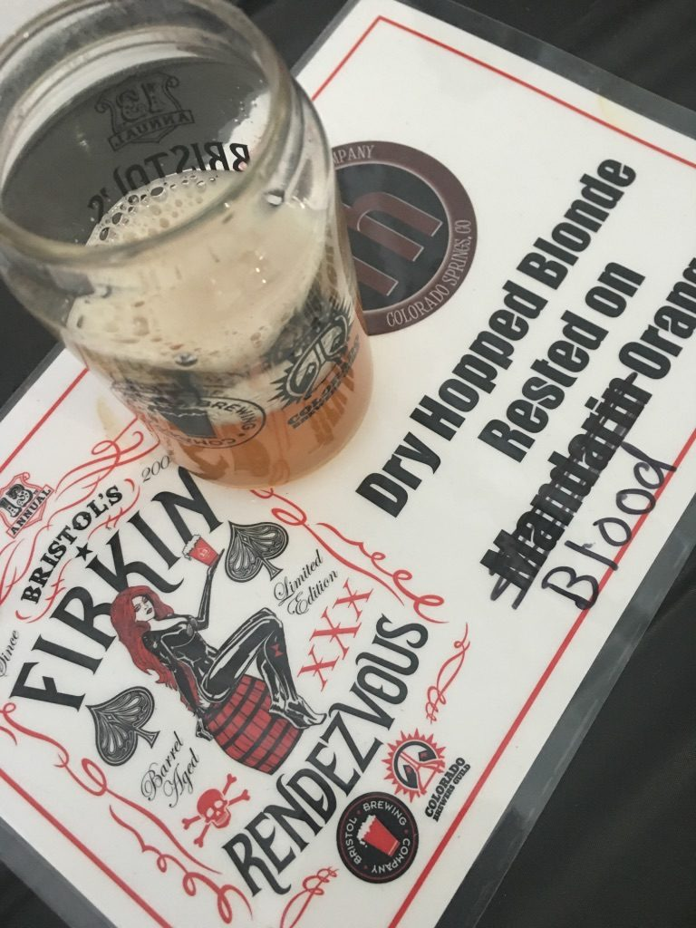 Rocky Mountain Food Report, food news, beer news, Firkin Rendezvous, Bristol Brewing Co., Colorado Springs
